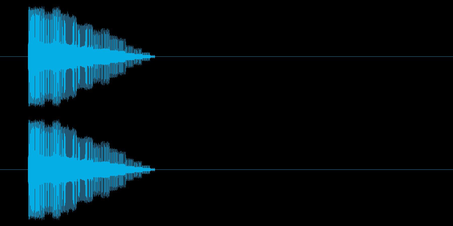【NES 汎用01-05(ピッチ)】の再生済みの波形