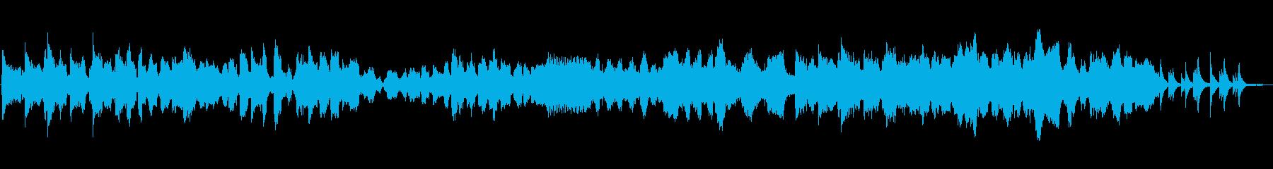 伸びやかな旋律が心に残る映像向け作品の再生済みの波形