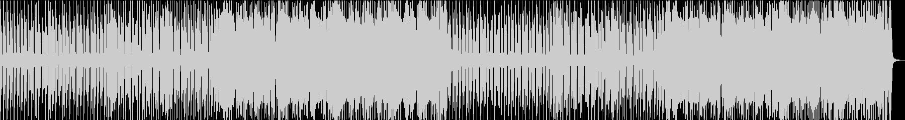 切迫したエレクトロの未再生の波形