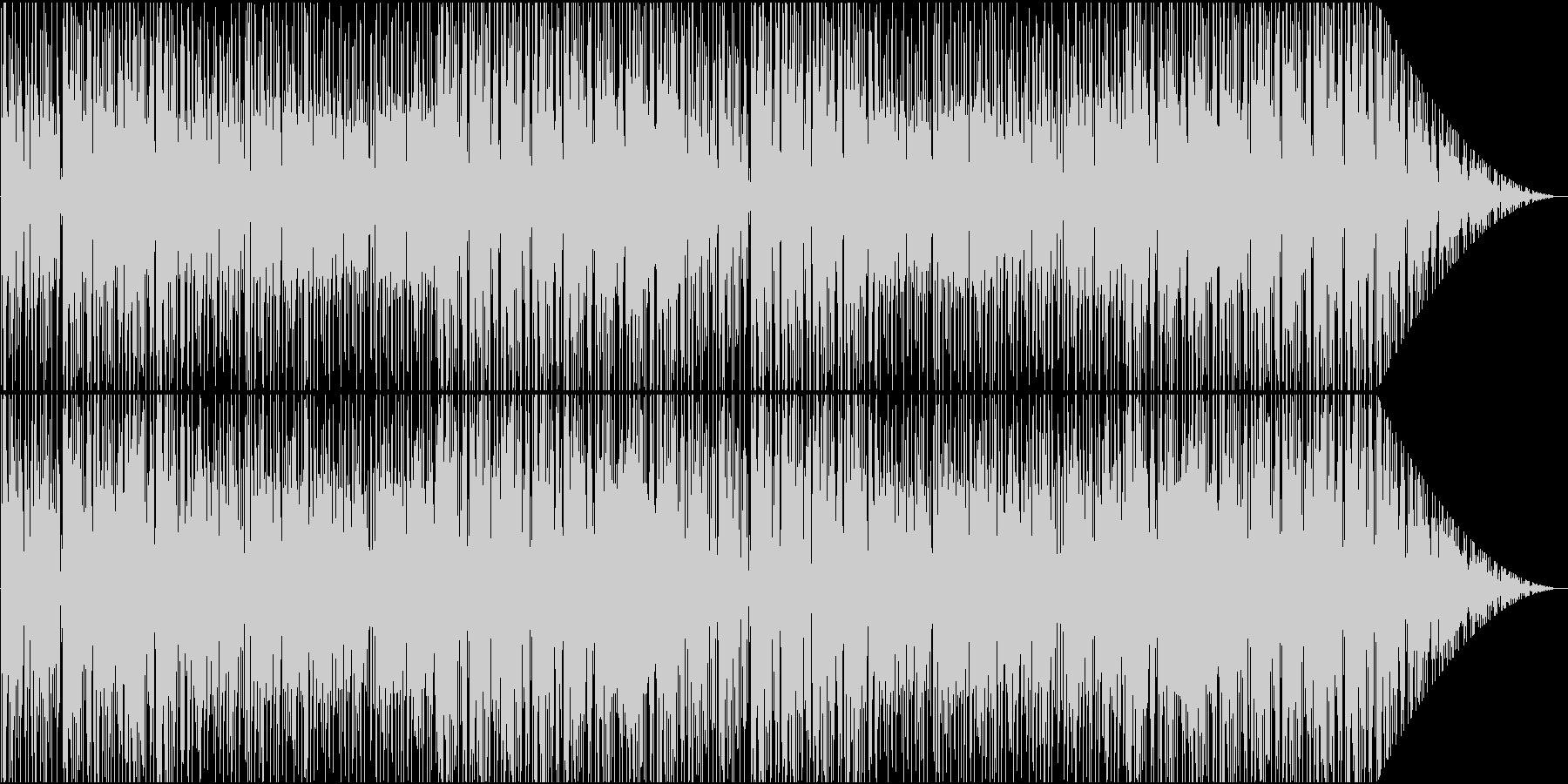 ゆったりともの悲しげなヒップホップの未再生の波形