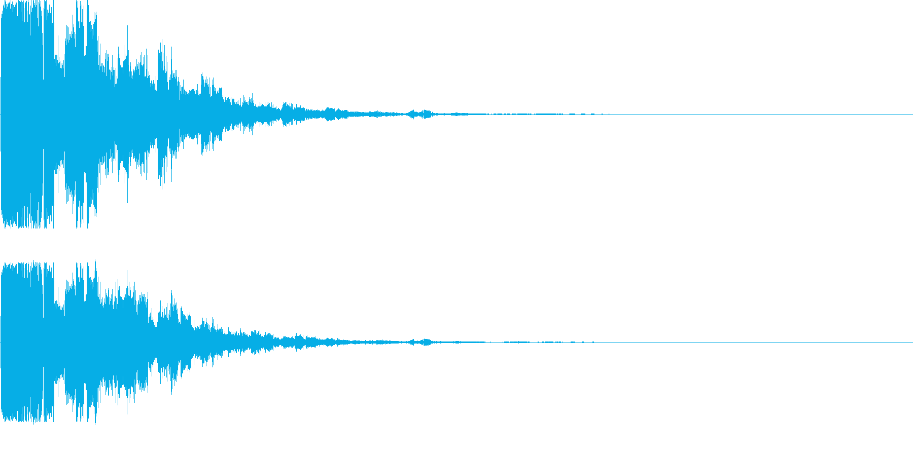 システム音38の再生済みの波形