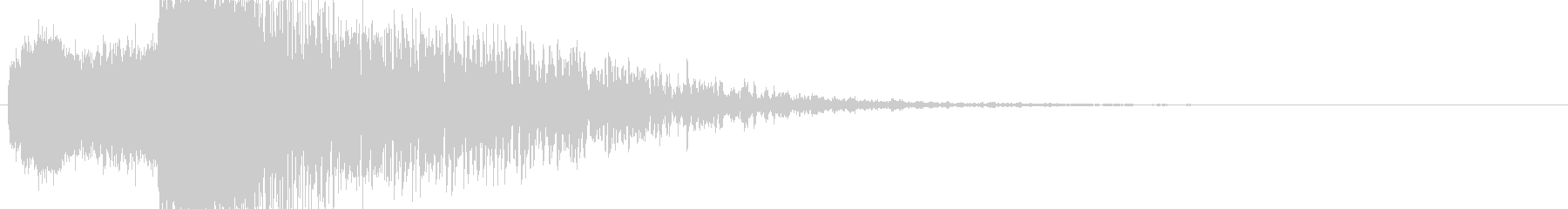 【SE】爆発音05(SF超爆発〜連続)の未再生の波形