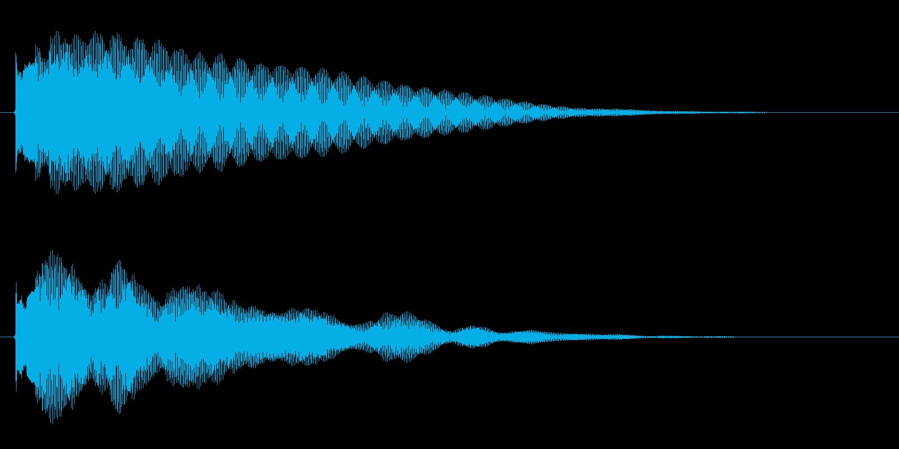 綺麗系な音で爽やかに雰囲気を変える音で…の再生済みの波形