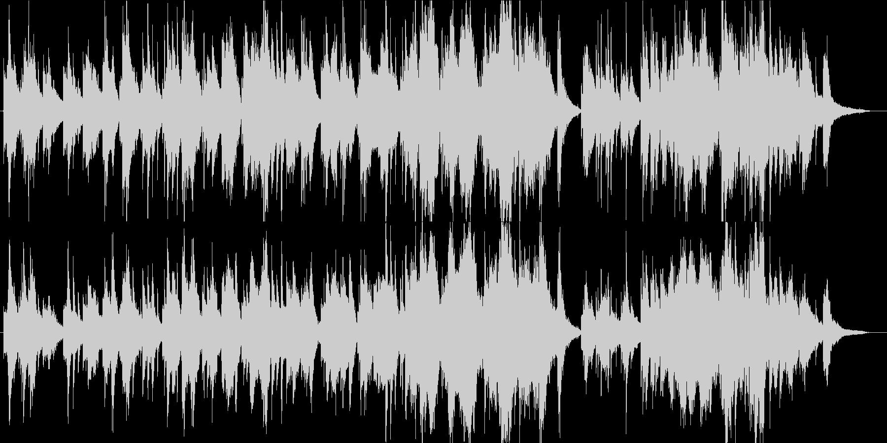 神秘的・幻想的な森の癒し系・民族音楽の未再生の波形