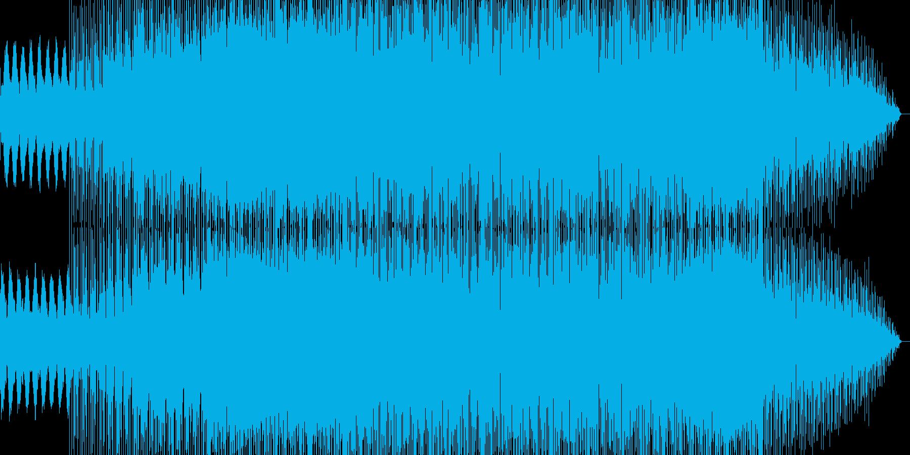哀愁感のあるメロディと不思議な雰囲気の曲の再生済みの波形