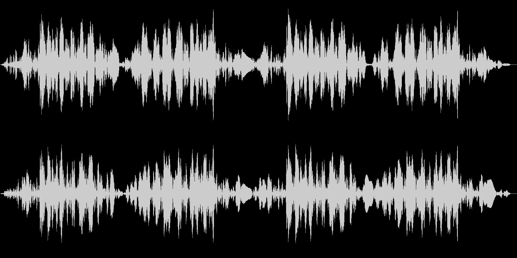 ジュクジュク(レコードスクラッチ2回)の未再生の波形