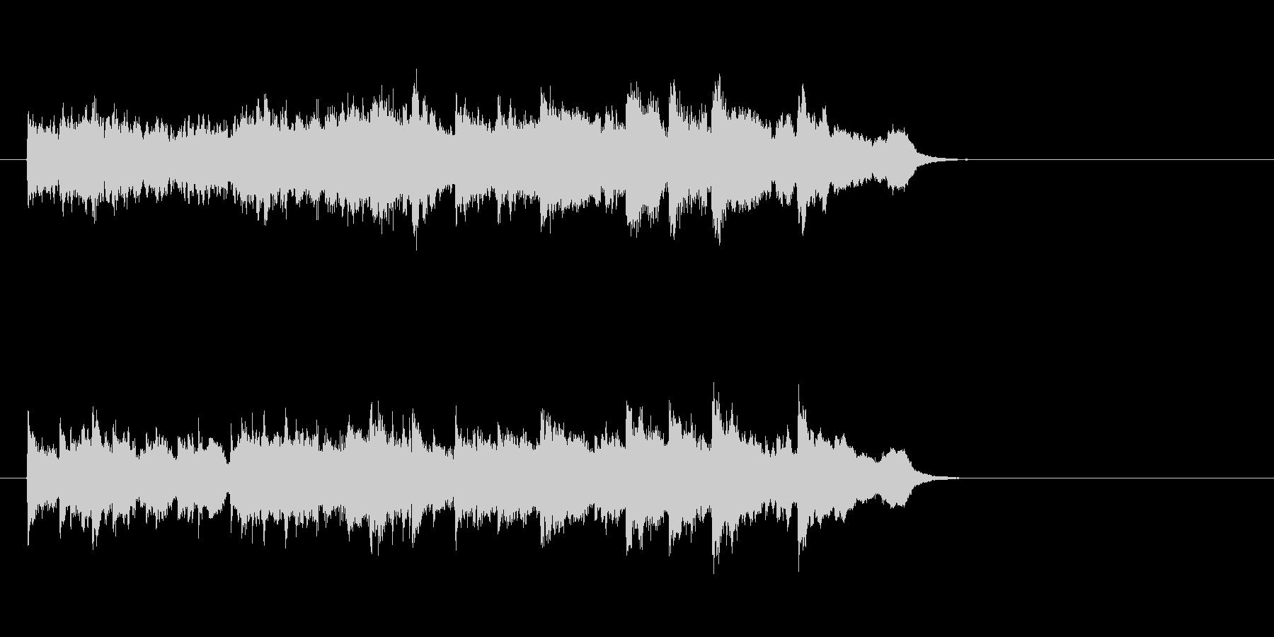 ウェディング風バラード(イントロ)の未再生の波形