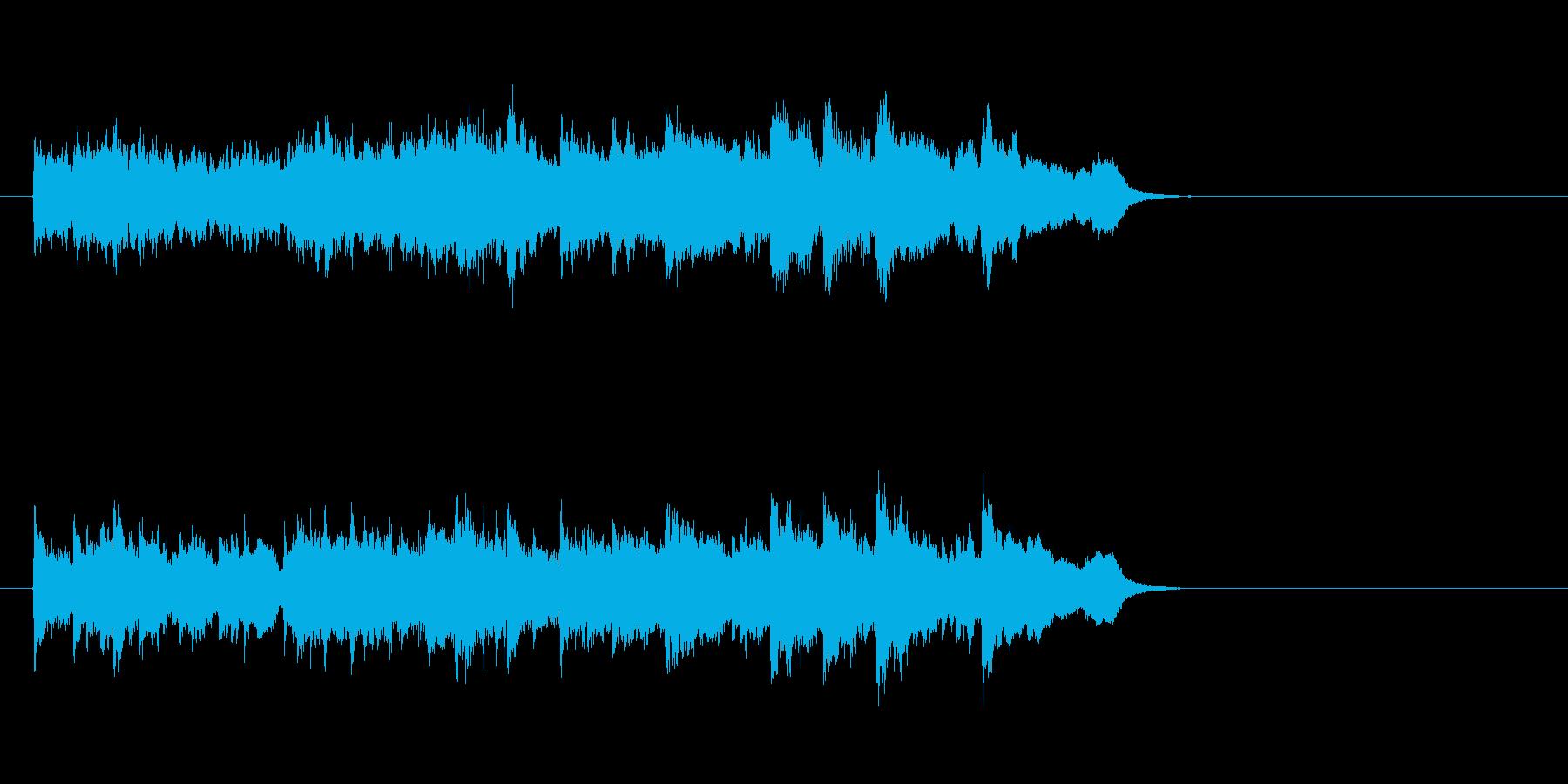 ウェディング風バラード(イントロ)の再生済みの波形
