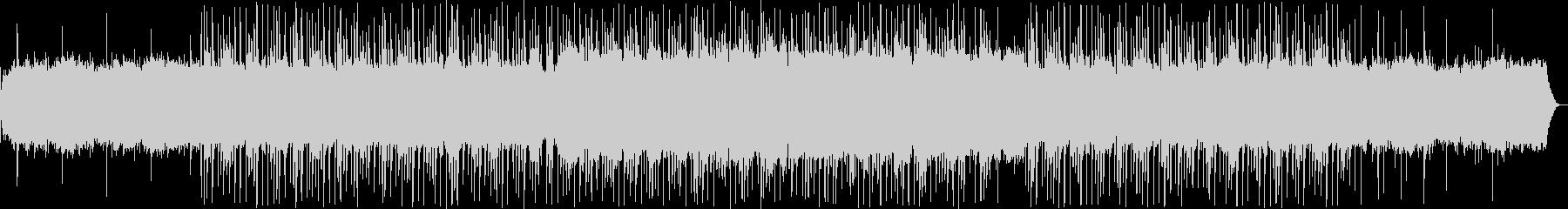 ゆったりとしたシンセ・ピアノサウンドの未再生の波形