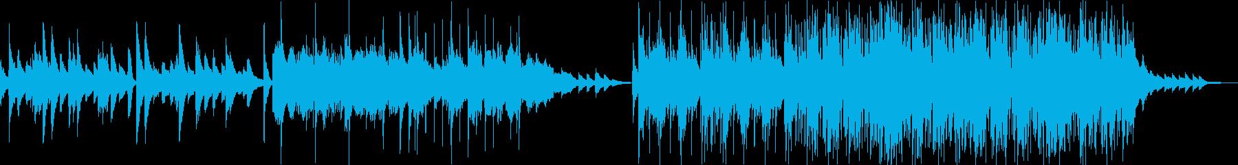 感動系 ロマンティックなやさしいピアノ曲の再生済みの波形