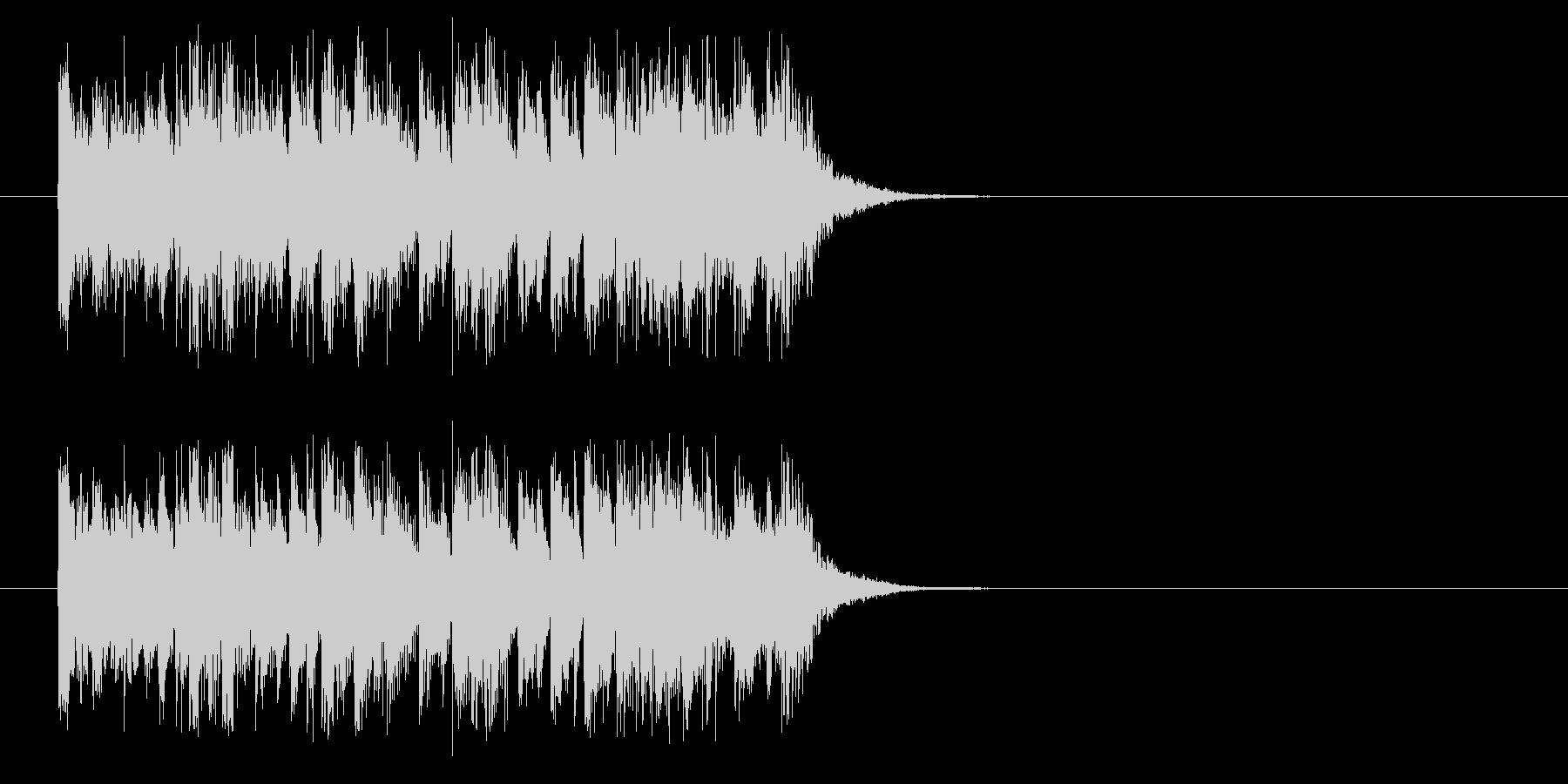 ジングル(それではVTRをどうぞ)の未再生の波形