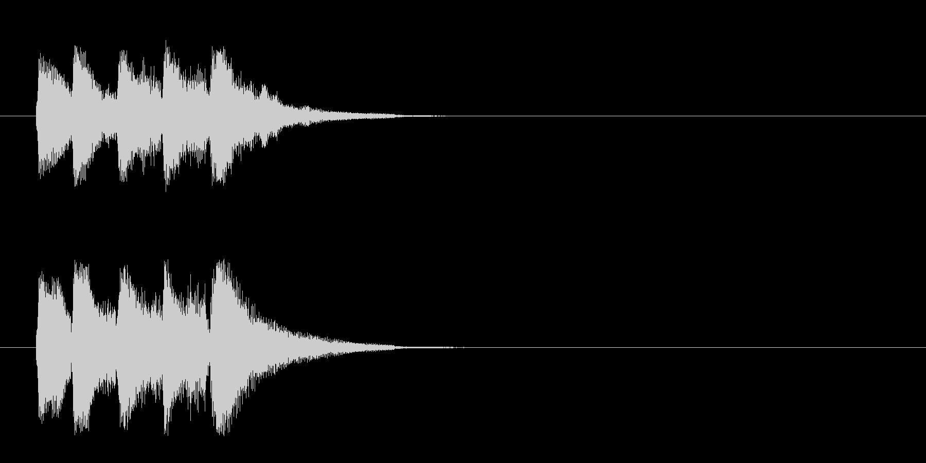 ジングル/ベル(場面転換)の未再生の波形
