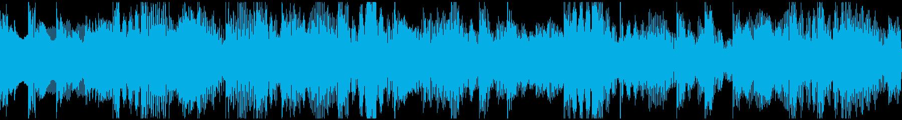 森をイメージしたBGMの再生済みの波形