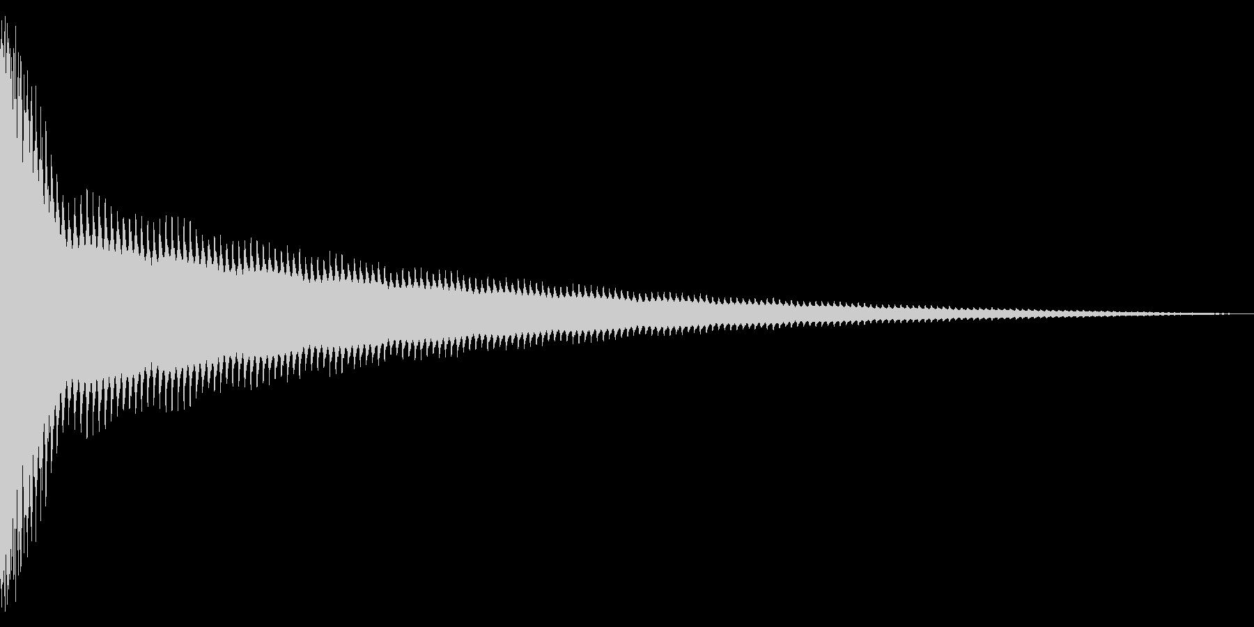 チーン!(8ビット風・ベルの音)の未再生の波形