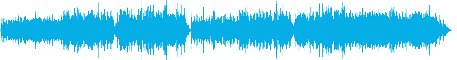 叙情的で切ないブルーグラスの再生済みの波形