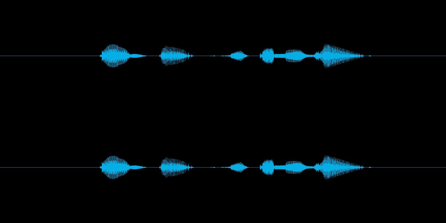 テンポ、120の再生済みの波形