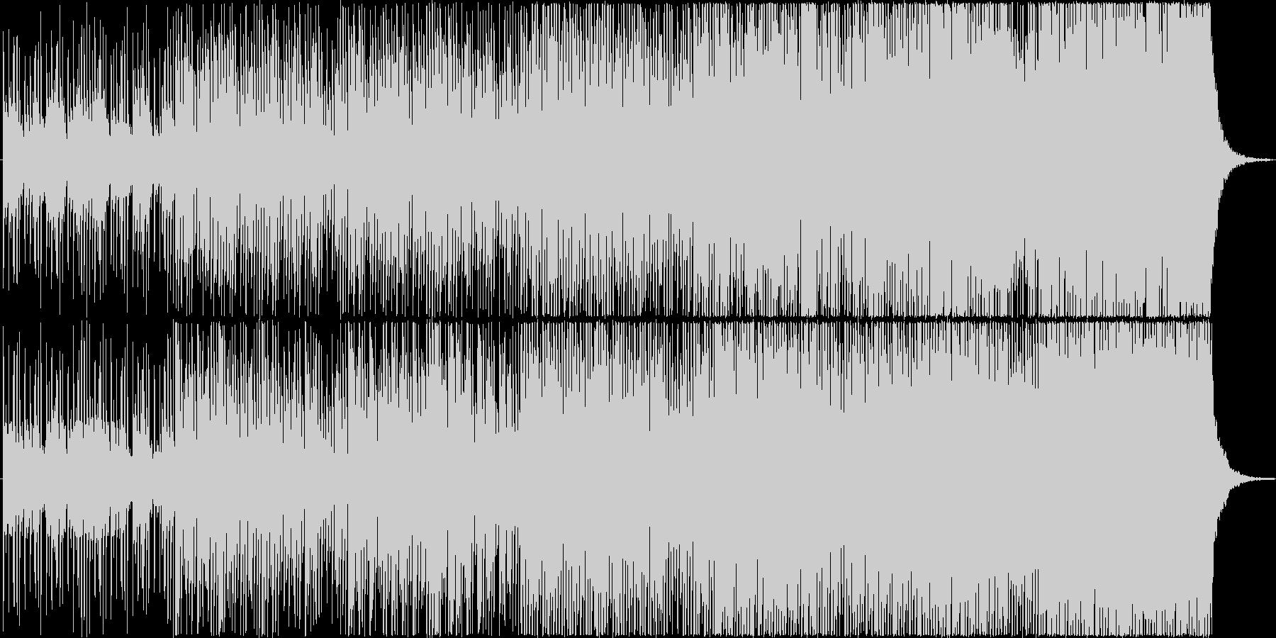 切ないメロディーが印象的なバラードの未再生の波形