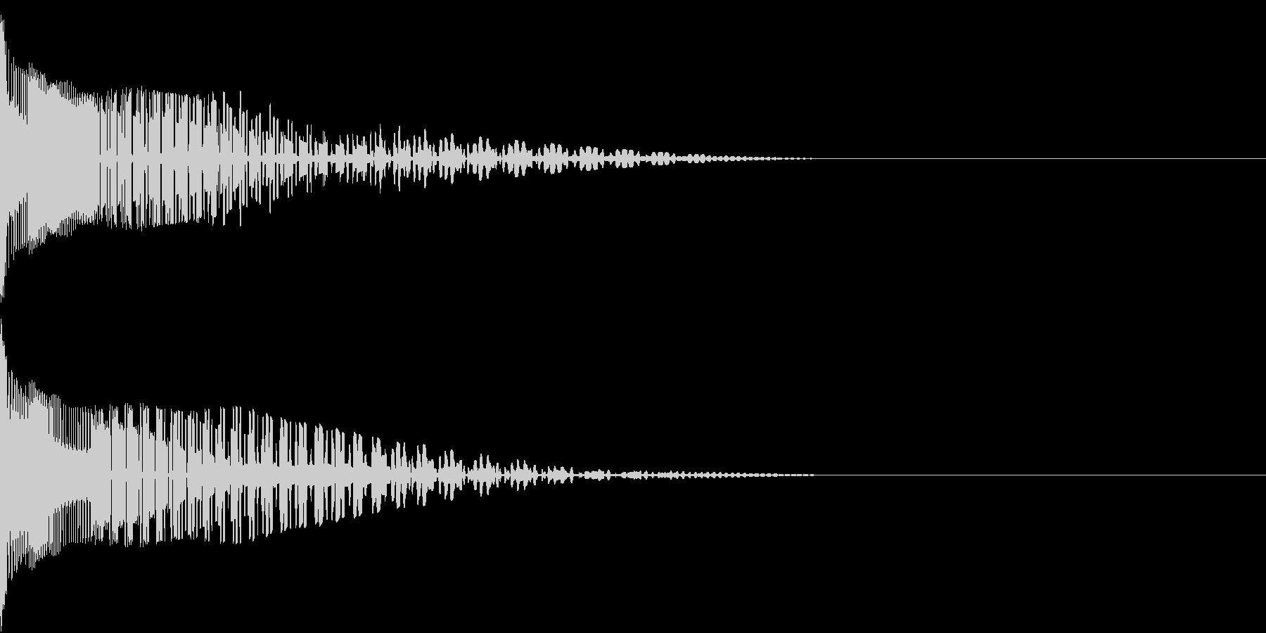 Henteko 可愛いクラッシュ音 6の未再生の波形