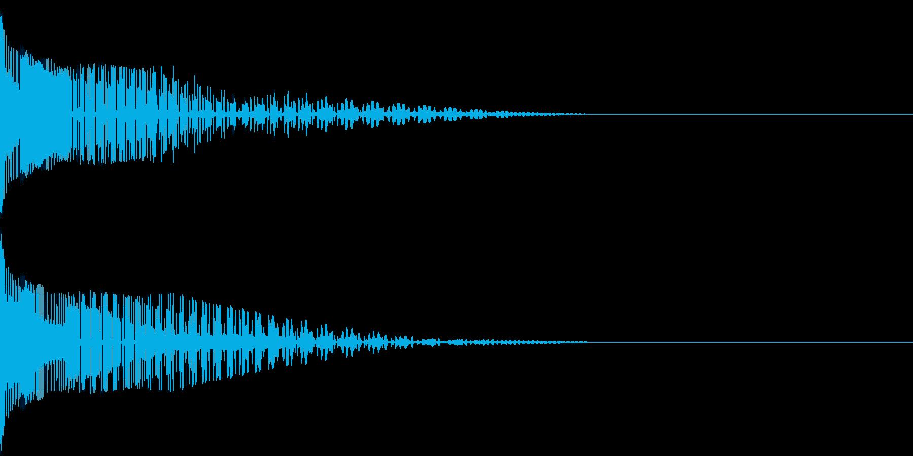 Henteko 可愛いクラッシュ音 6の再生済みの波形