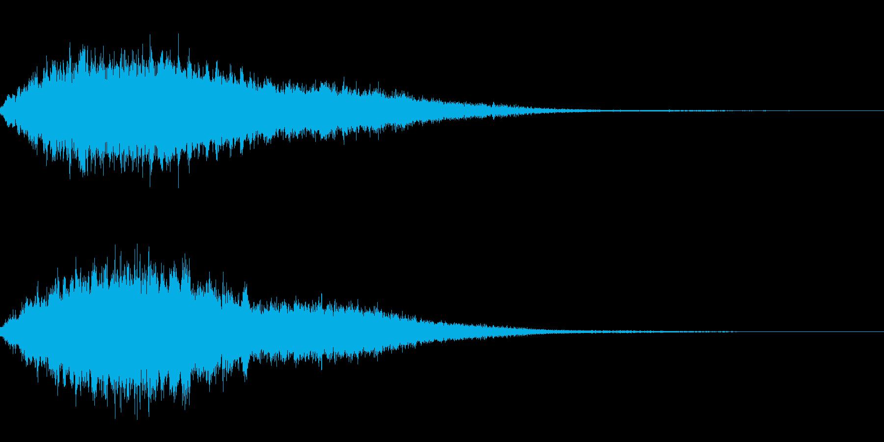 シャラララーンの再生済みの波形