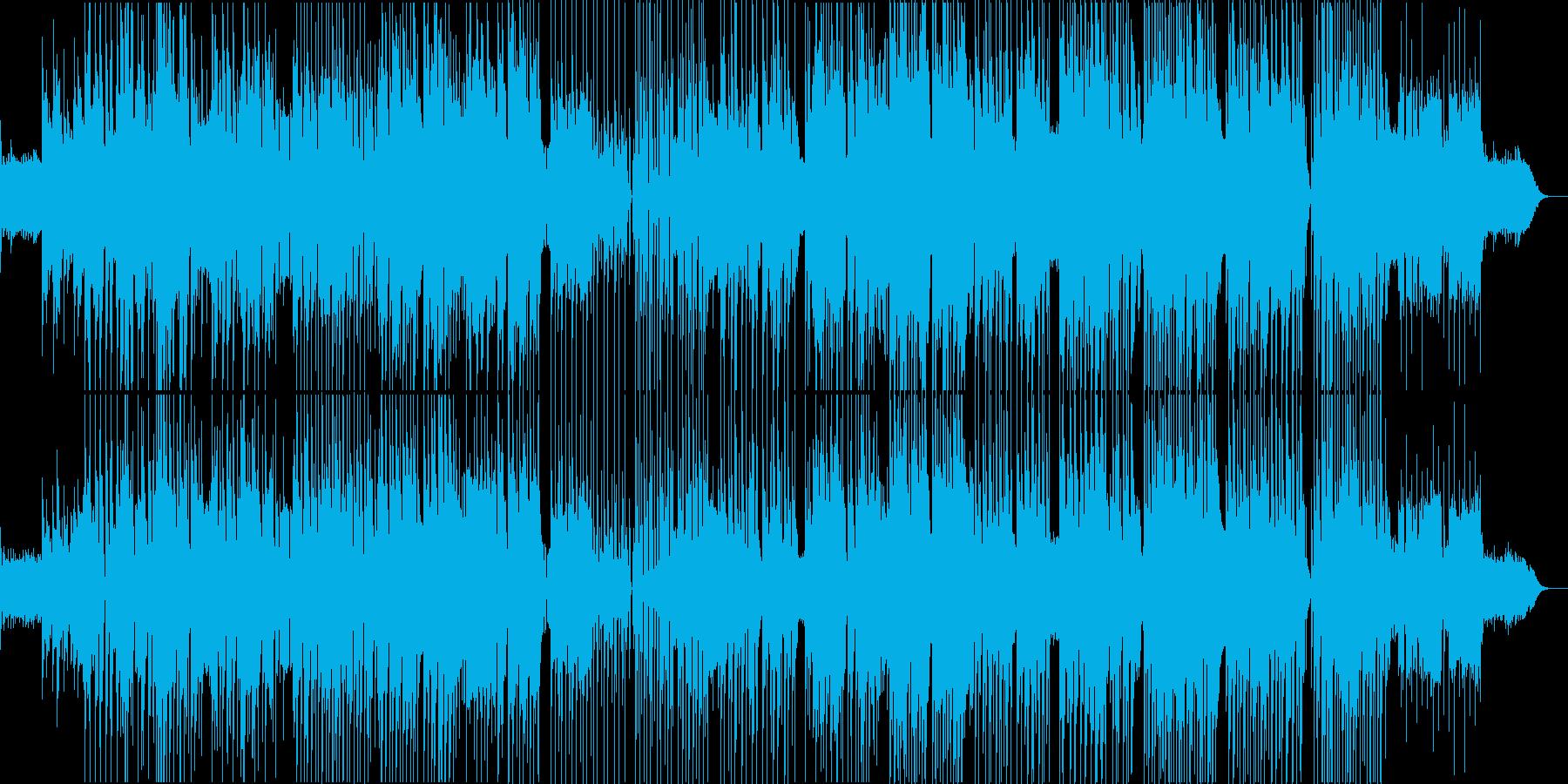 哀愁漂う黄昏のレゲエロック。の再生済みの波形