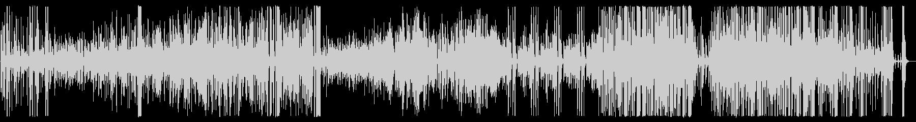 ミドルテンポの明るいビッグバンド曲の未再生の波形