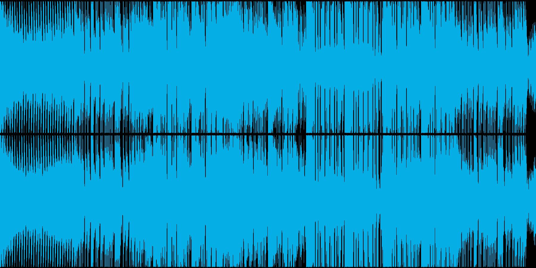 【ループ仕様】ファンタジックなバトル曲の再生済みの波形