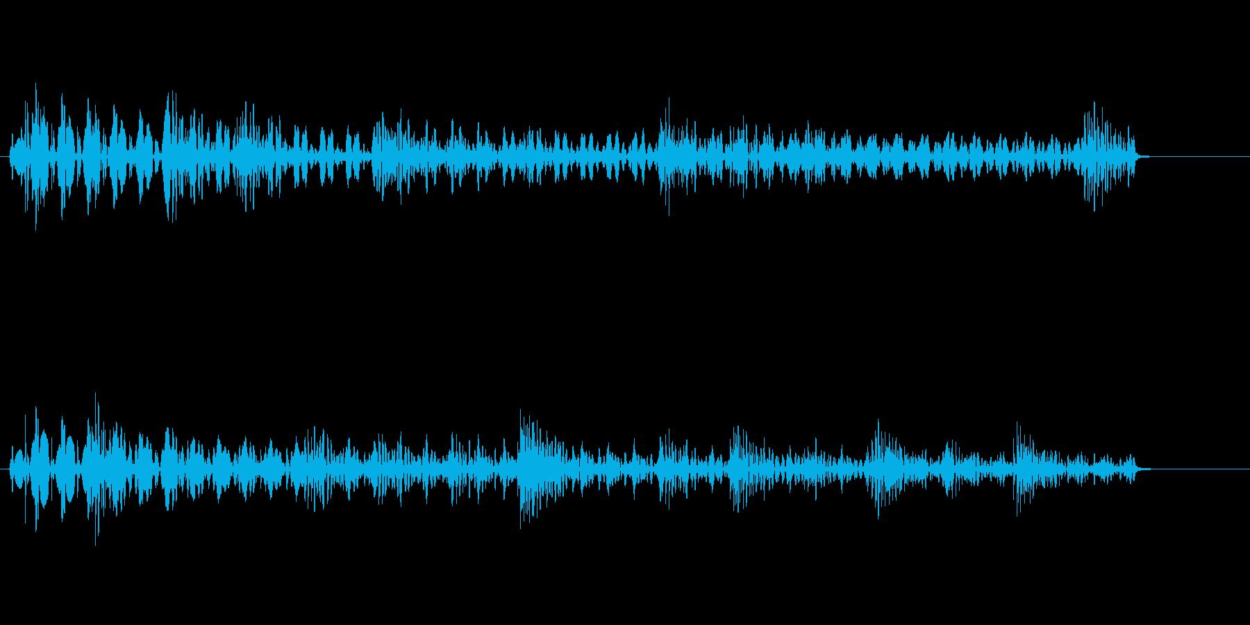 【SE ジングル】SFの再生済みの波形