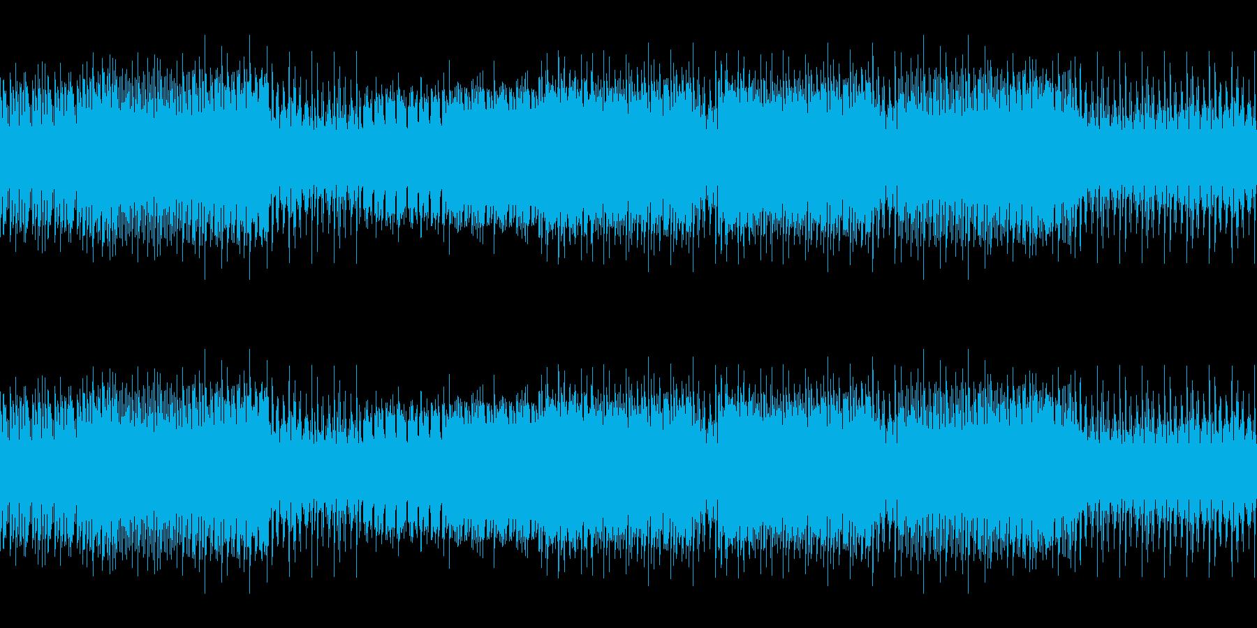 8ビットゲームサウンドBGM 06の再生済みの波形