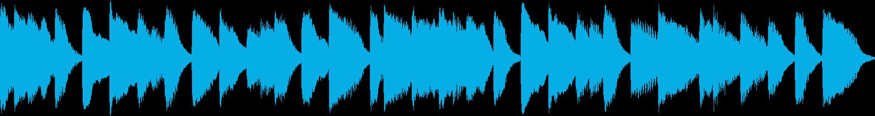 ループもできるピアノのジングルです。の再生済みの波形