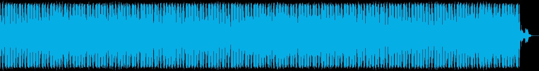 あやしい集会と叫び声のビートの再生済みの波形
