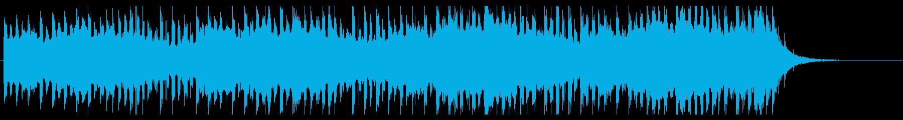 感動オープニングジングル おしゃれポップの再生済みの波形