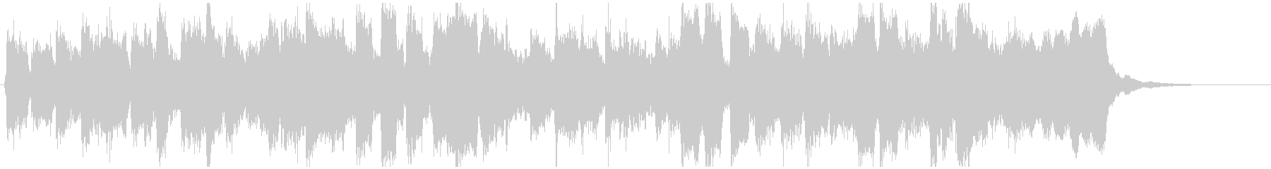 へっぽこリコーダーファンク15秒ジングルの未再生の波形