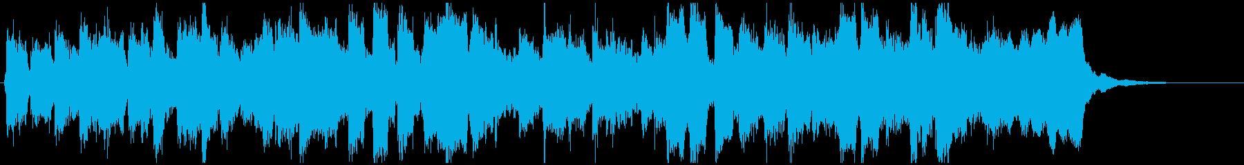 へっぽこリコーダーファンク15秒ジングルの再生済みの波形