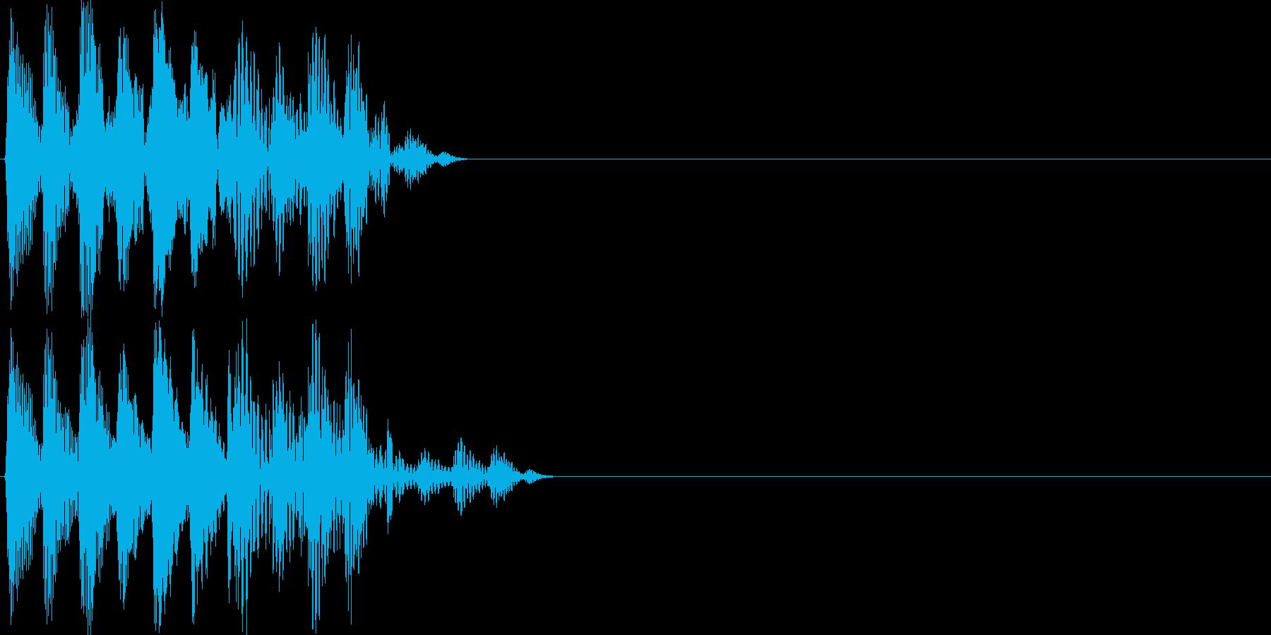 【ポコッ】ファミコン系 敵を倒す音_03の再生済みの波形