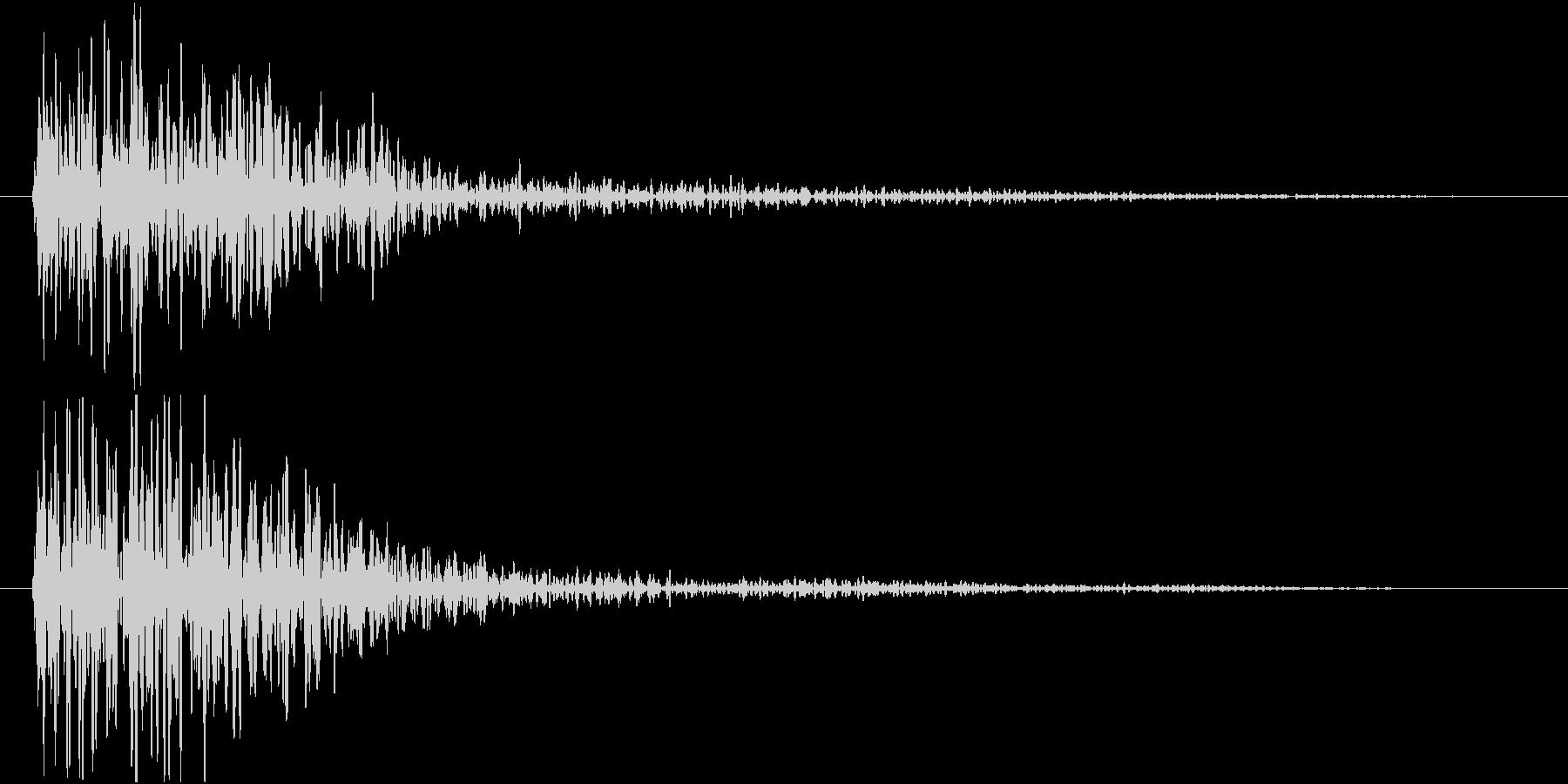 ドーン(低音・映画予告・インパクト)の未再生の波形