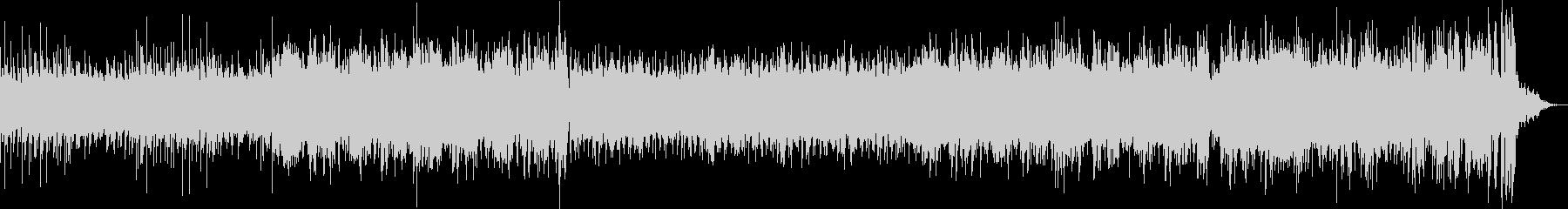 光速を表現したドラムンベースの未再生の波形