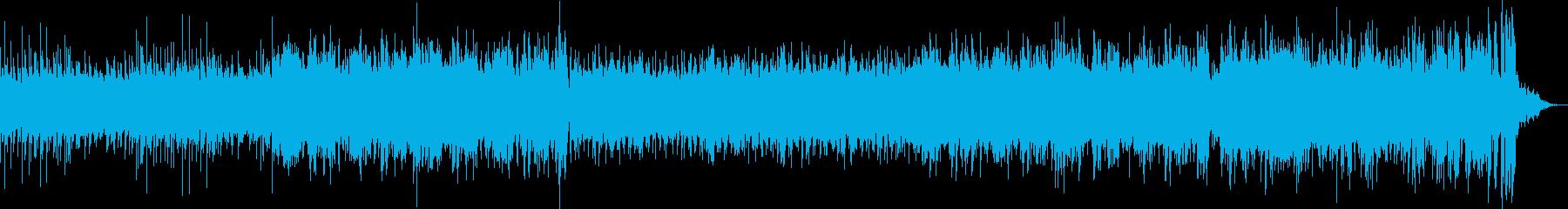 光速を表現したドラムンベースの再生済みの波形