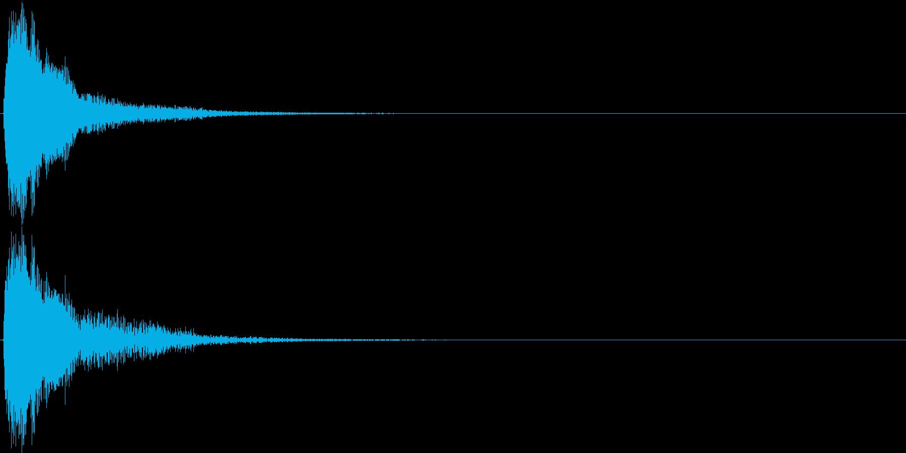 ジャン。クイズ出題・発表(高め)の再生済みの波形