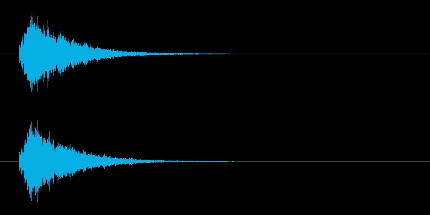 きらりんの再生済みの波形
