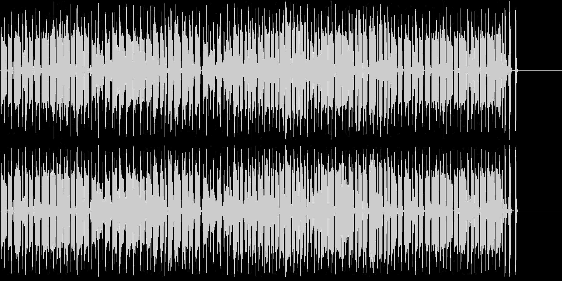 コミカルなほのぼの日常系BGMの未再生の波形