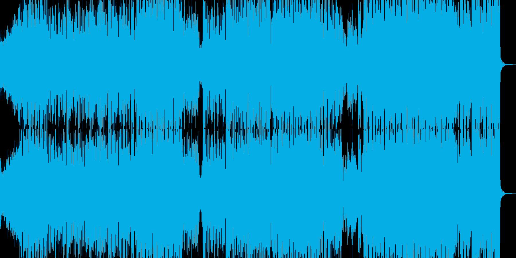 アシッドなダークトラックの再生済みの波形