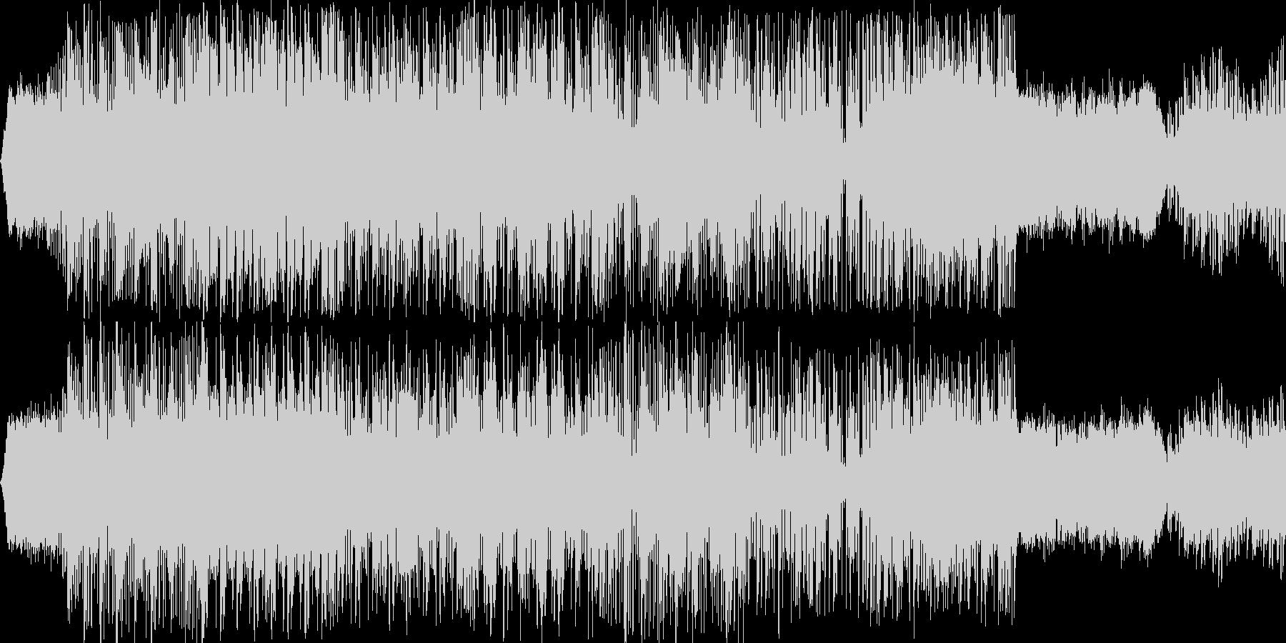 近未来ヒップ・ホップ・ジャズ風の未再生の波形