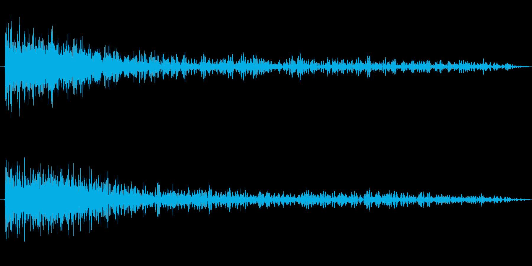 ドーン(リバーヴ長め)破壊系の再生済みの波形