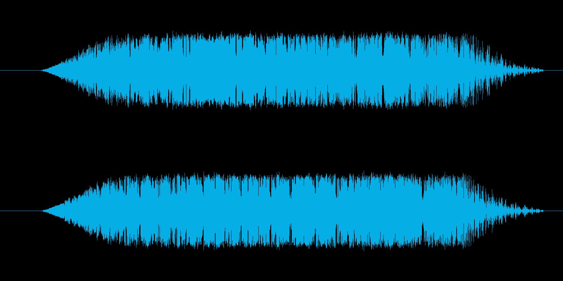 ギヨンと言うような音です。の再生済みの波形