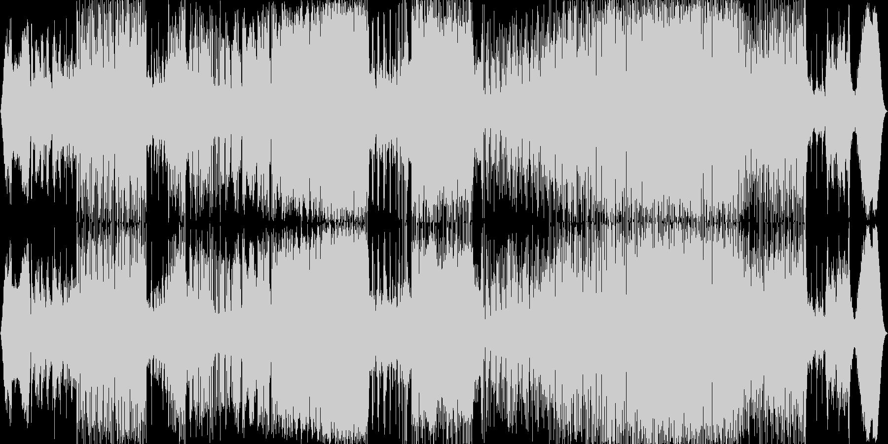 ピアノメインの全編7拍子で緊迫感のある曲の未再生の波形