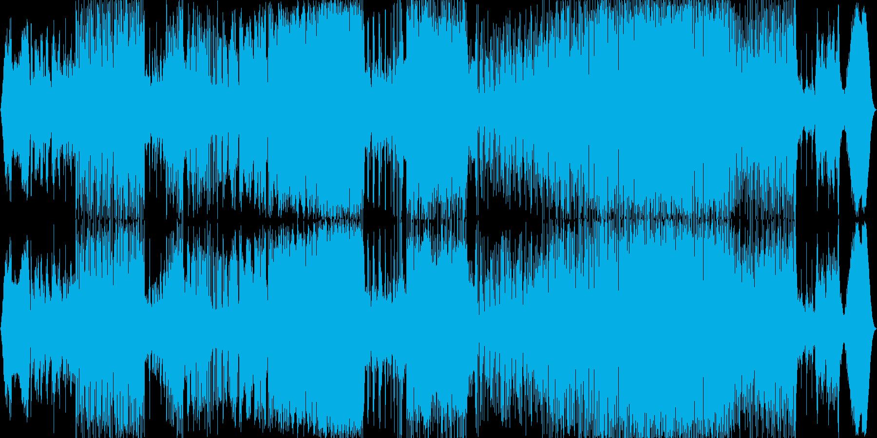 ピアノメインの全編7拍子で緊迫感のある曲の再生済みの波形