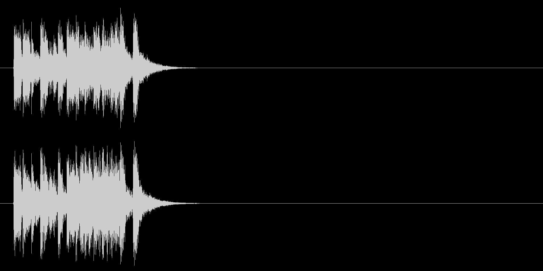 ジングル/ポップ(場面転換風)の未再生の波形