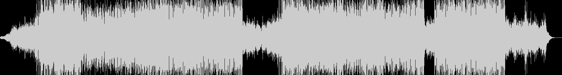 森林浴イメージの3拍子ドラムンベースの未再生の波形