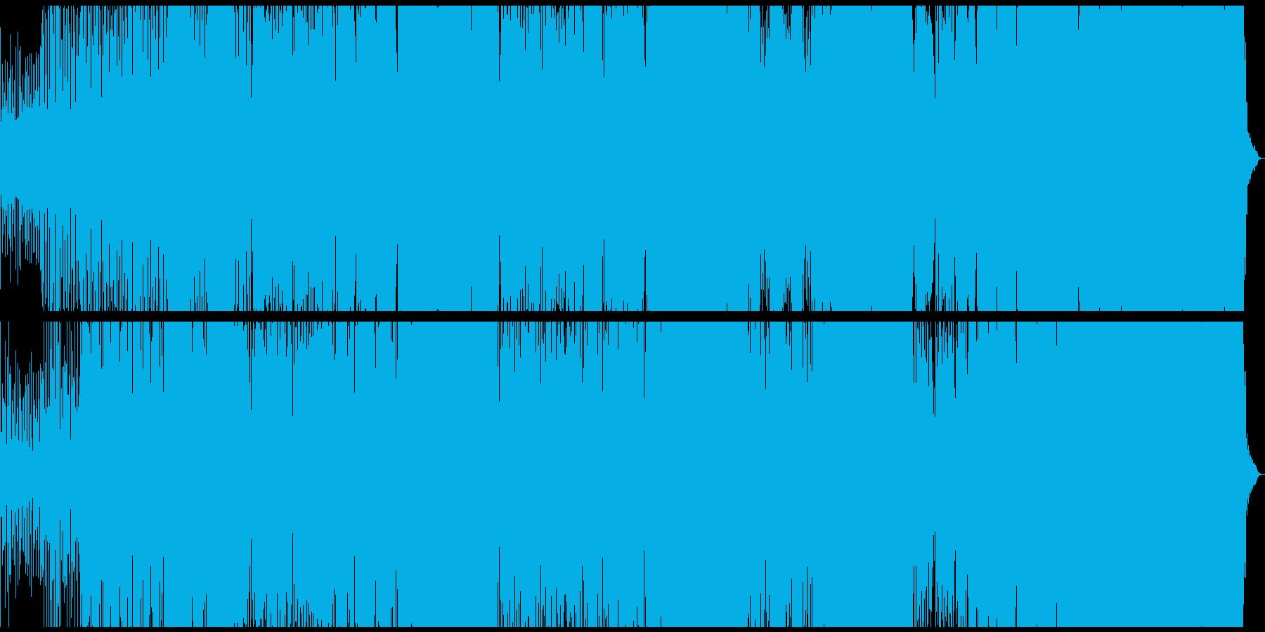 元気の出るEDMの再生済みの波形